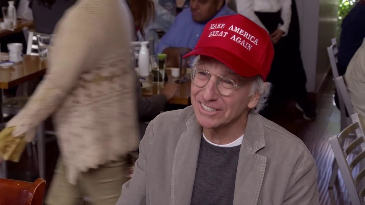 Larry David MAGA Hat