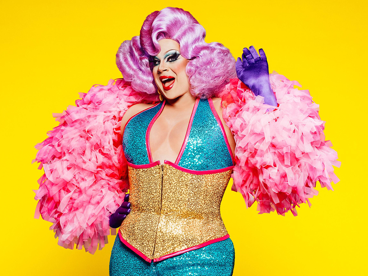 Nina West for the ABCs of Drag