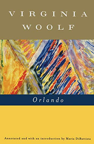 Orlando: A Biography book cover.