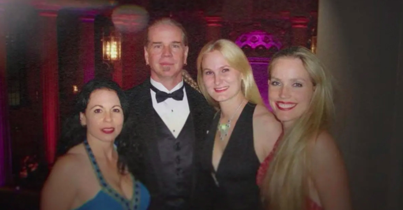 Doc Antle and his wives in Tiger King
