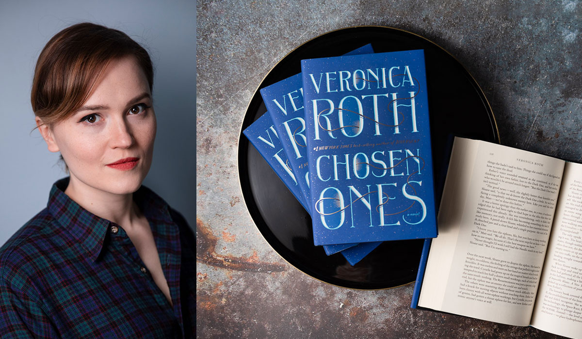 Author Veronica Roth will have a virtual book tour