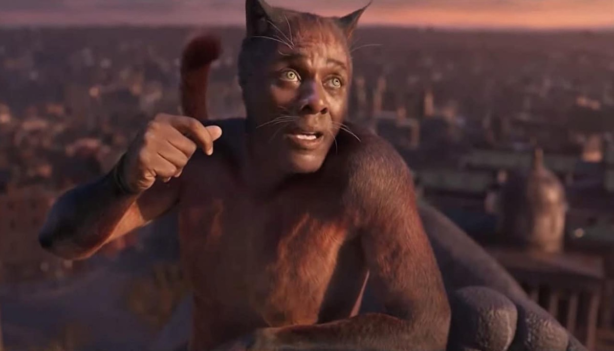 Cats the movie has a butthole cut