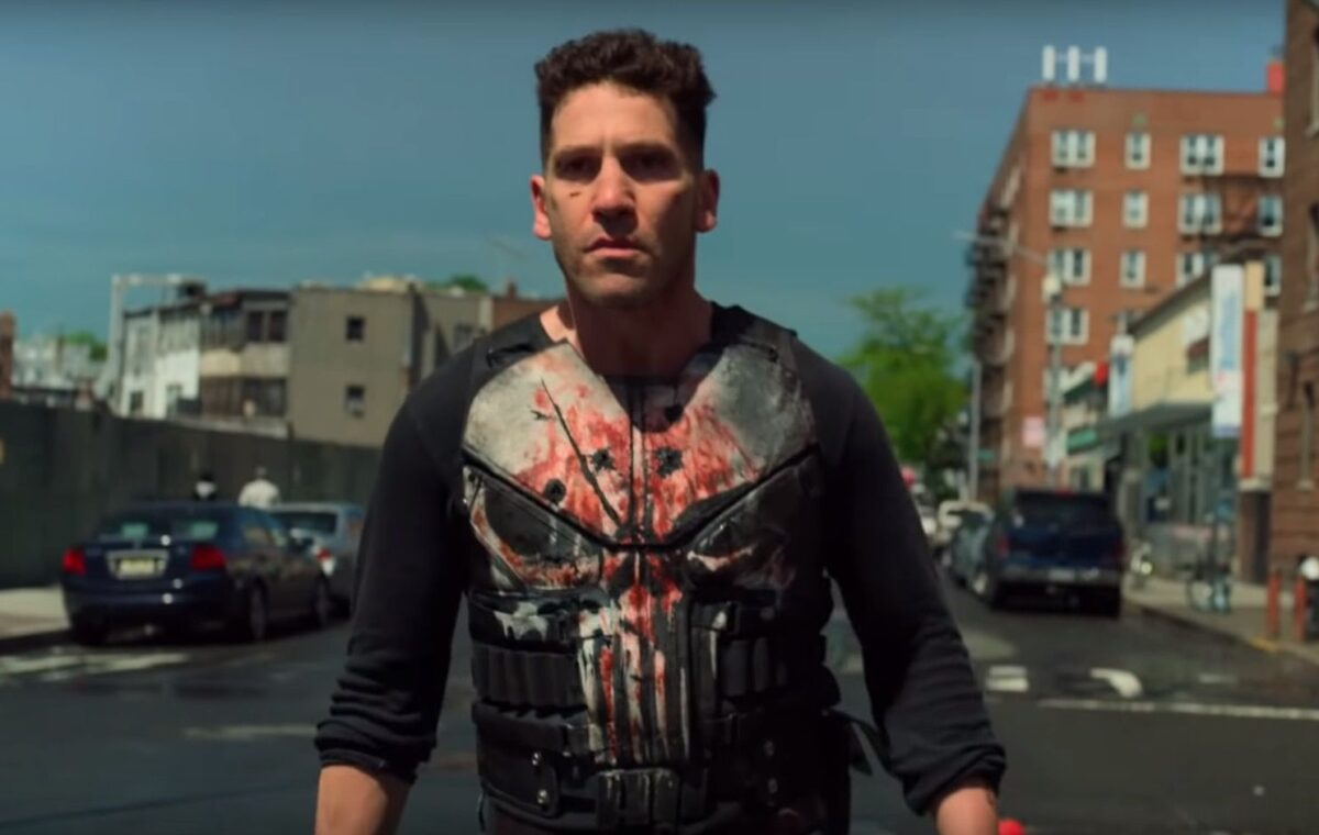 Jon Bernthal as Frank Castle in the Punisher.