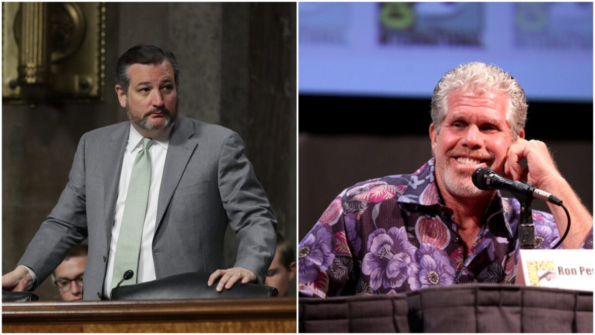 Twitter Feud Between Ron Perlman and Ted Cruz | The Mary Sue