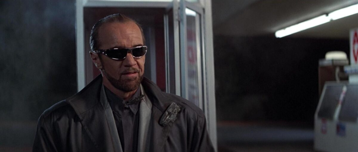 George Carlin as Rufus in Bill and Ted's Excellent Adventure