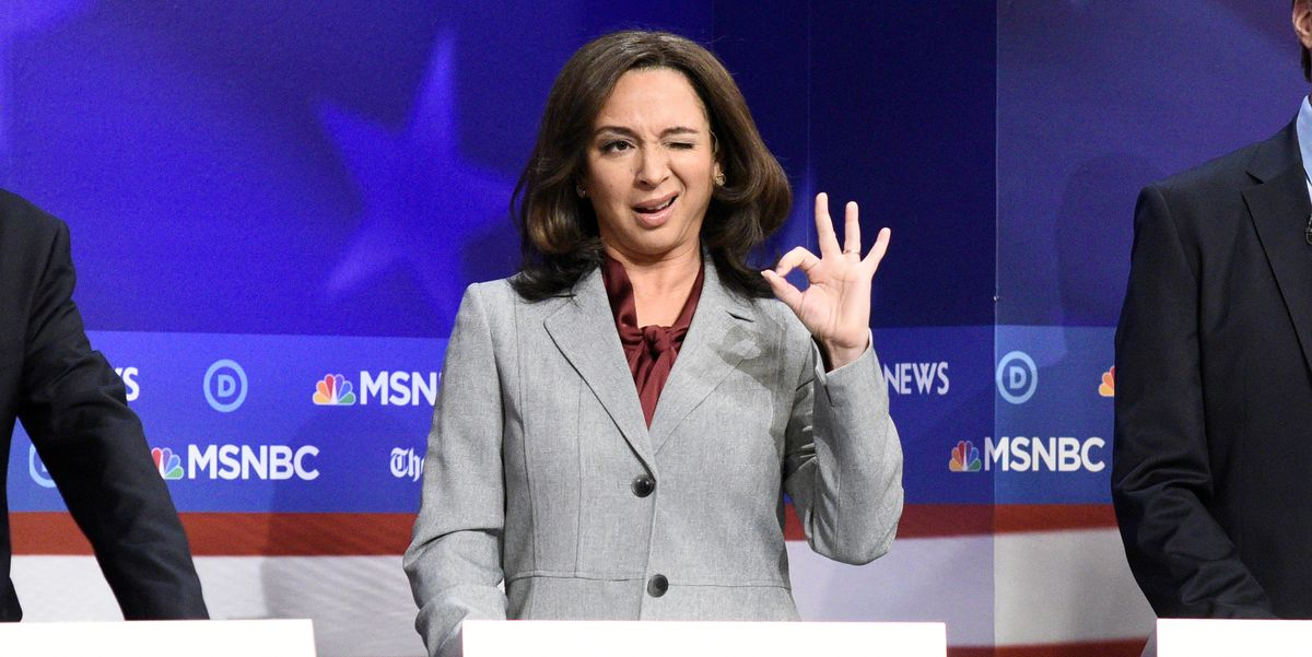 Maya Rudolph as Kamala Harris