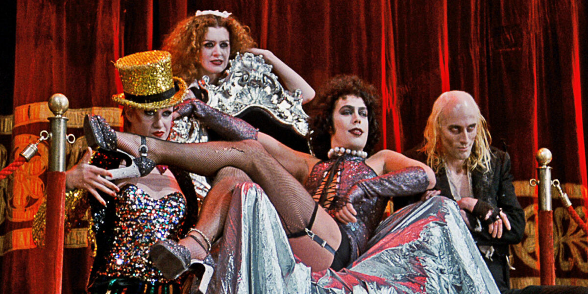 Tim curry and co in the Rocky Horror Picture Show