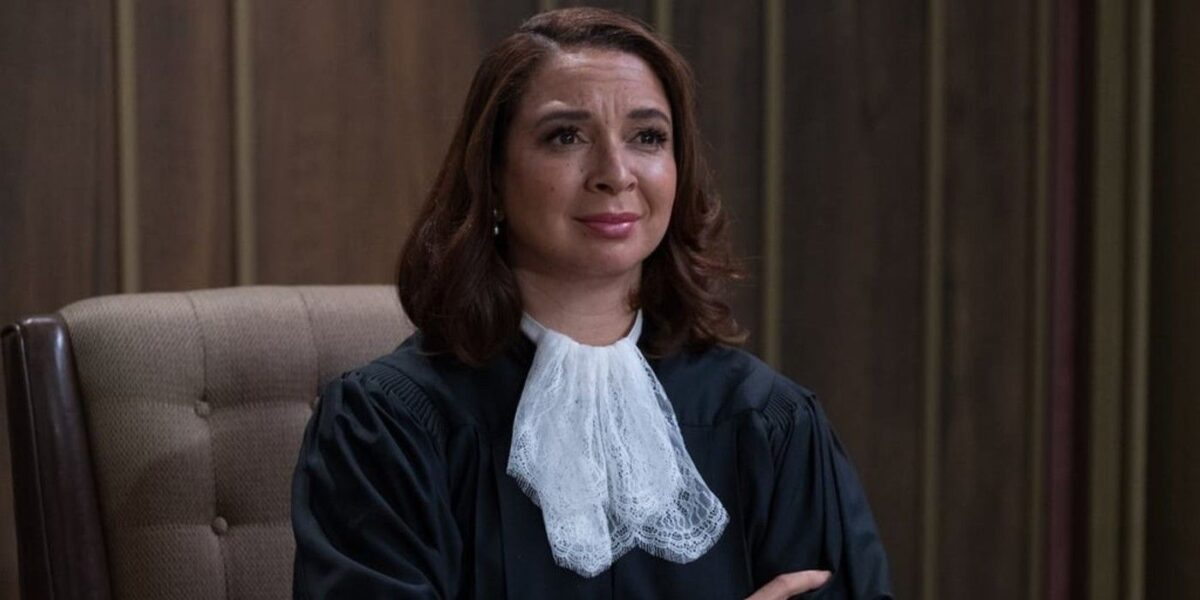 Maya Rudolph Says The Good Place Judge Was Based on RBG