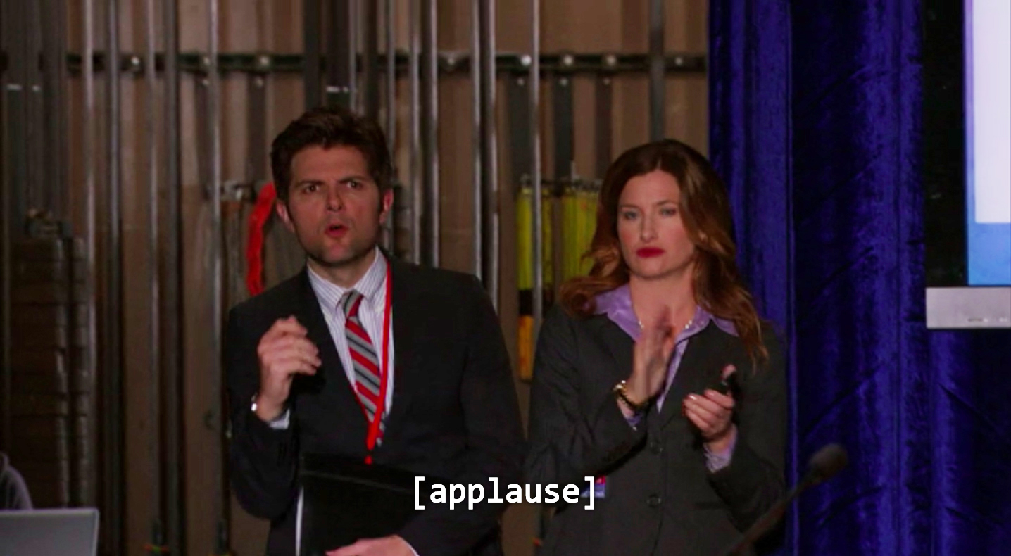 Ben WYatt confused in parks and rec