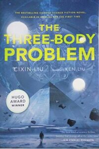 Book cover for The Three-Body Problem by Ken Liu