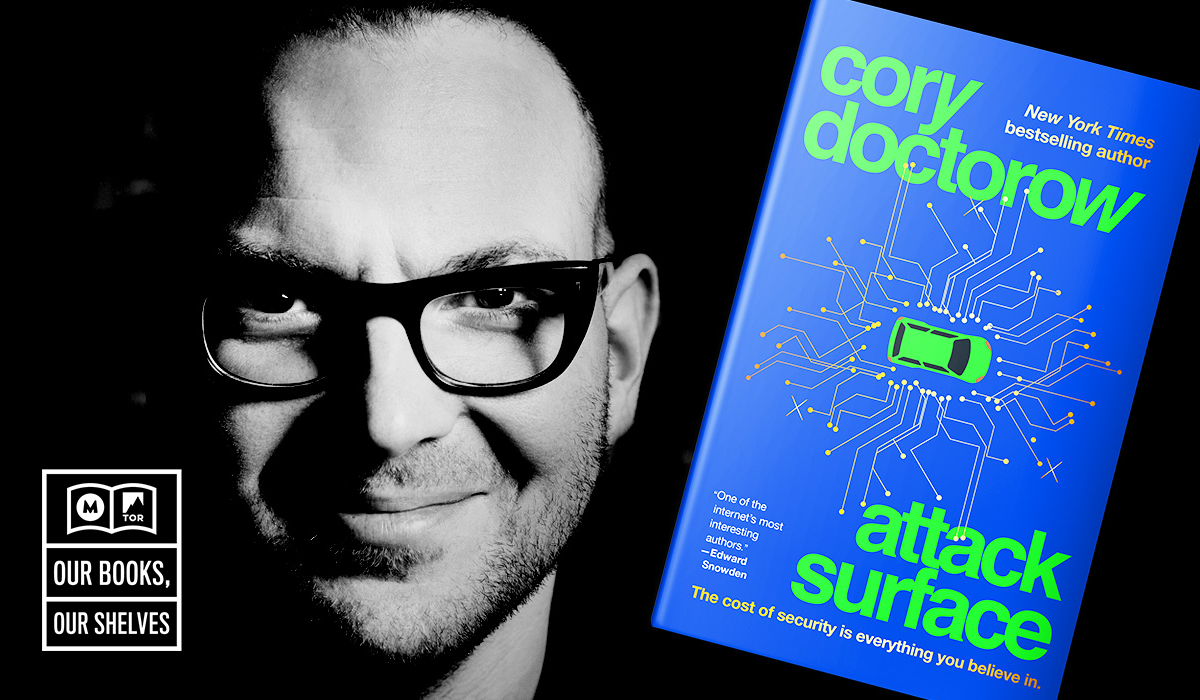 Cory Doctorow and his newest novel, Attack Surface