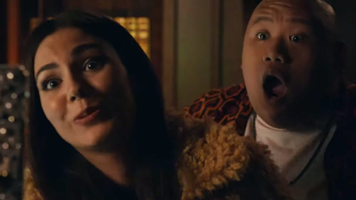 Jacob Batalon and Victoria Justice in 50 States of Fright