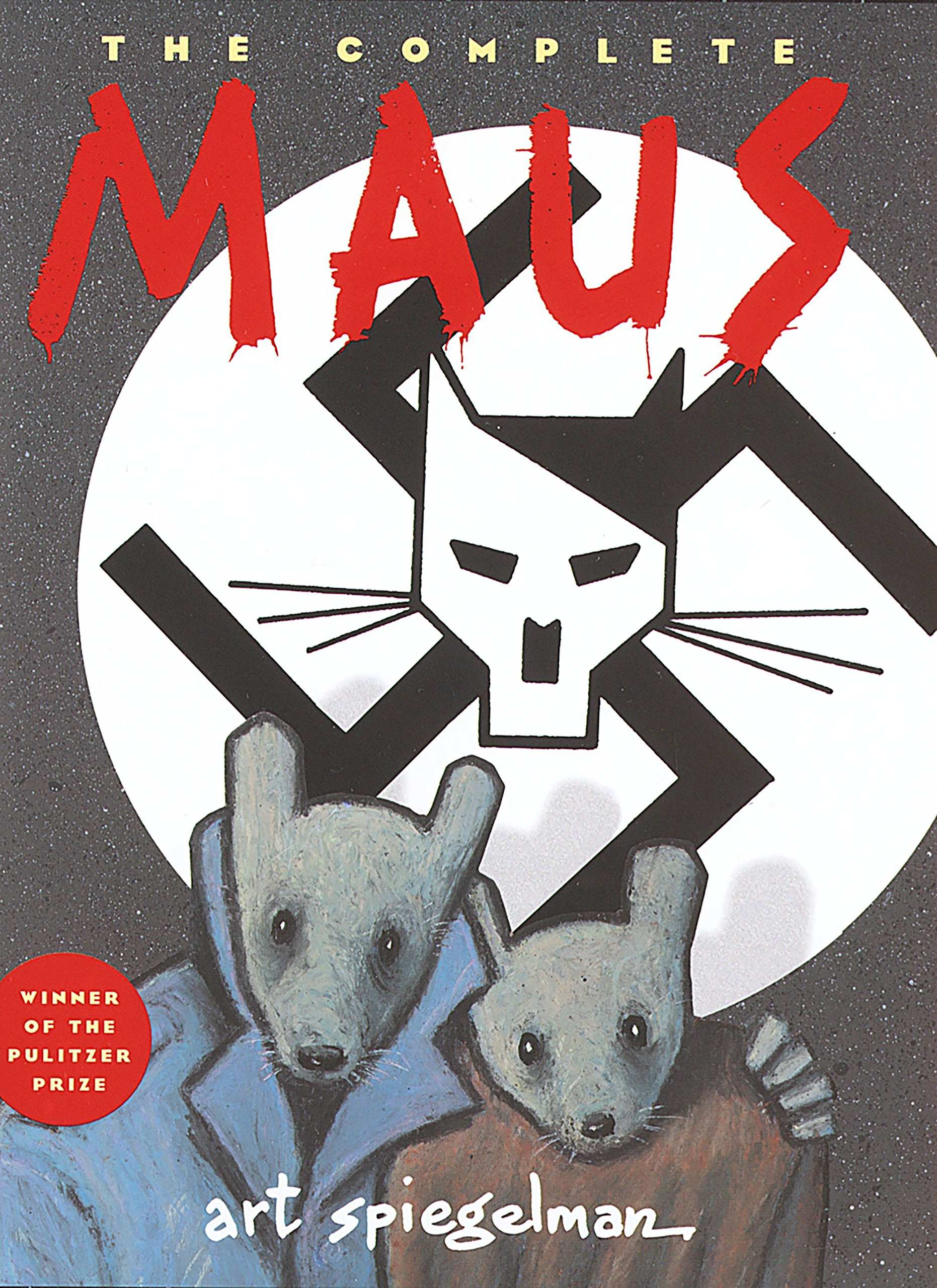 Book Cover for Maus by Art Spiegelman