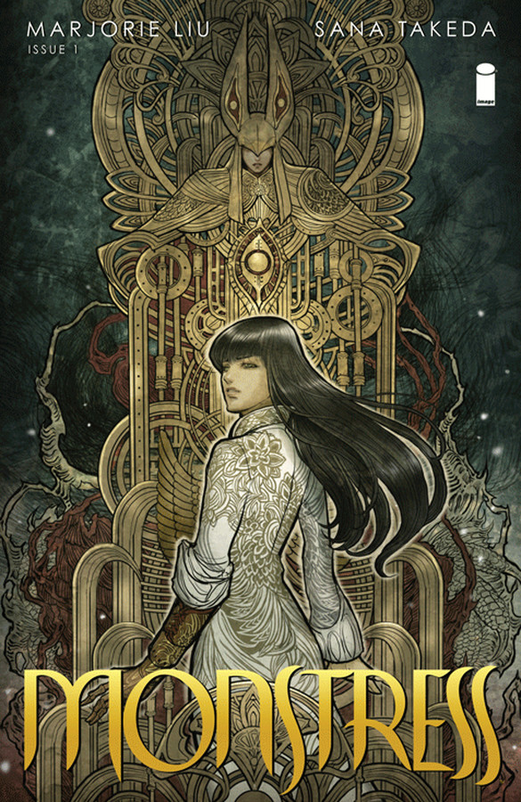 Book Cover for Monstress by Marjorie Liu and Sana Takeda