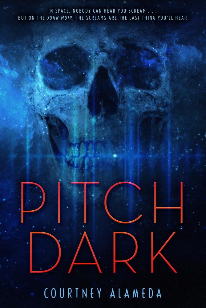 Book cover for Pitch Dark by Courtney Alameda