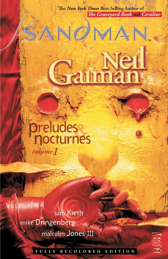 Book Cover for The Sandman by Neil Gaiman