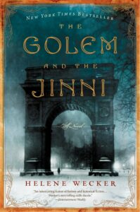 Book cover for The Golem And The Jinni by Helene Wecker