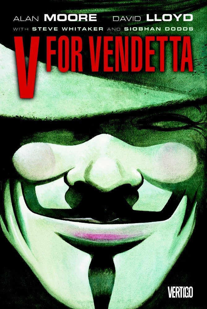 Book Cover for V for Vendetta by Alan Moore
