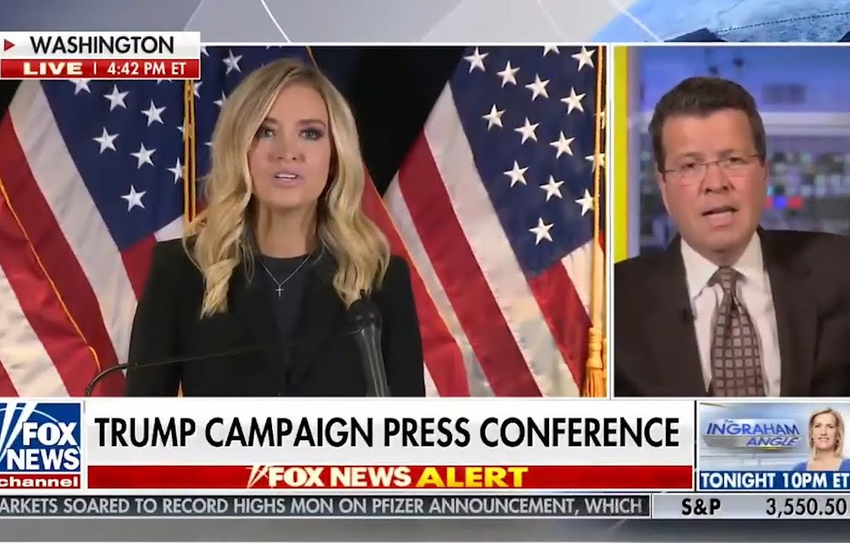 Neil Cavuto cuts off a Kayleigh McEnany press conference on Fox News