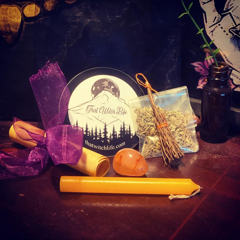 a spell kit from that witch life