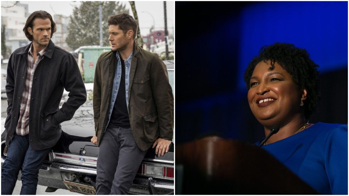 Left: Colin Bentley/The CW -- © 2020 The CW Network, LLC. All Rights Reserved. Right: Jessica McGowan/Getty Images)
