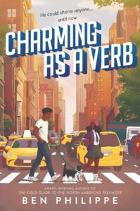 Book cover for Charming As A Verb by Ben Philippe