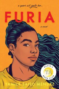Book cover for Furia by Yamile Saied Méndez