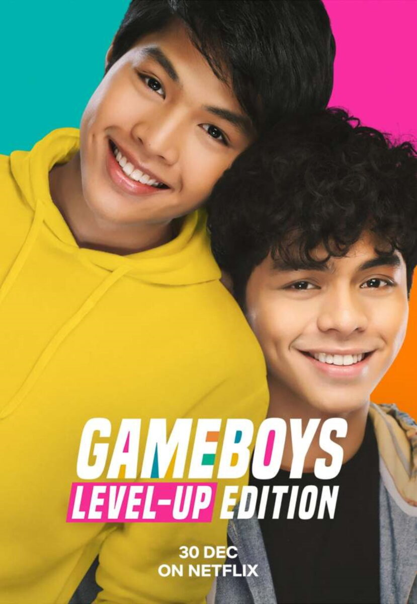 """Cover to the upcoming Netflix release """"Gameboys: Level Up Edition"""""""