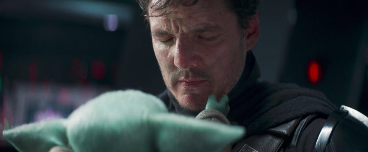 grogu honestly being me to pedro pascal's face