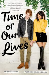 Book cover for Time Of Our Lives by Emily Wibberley