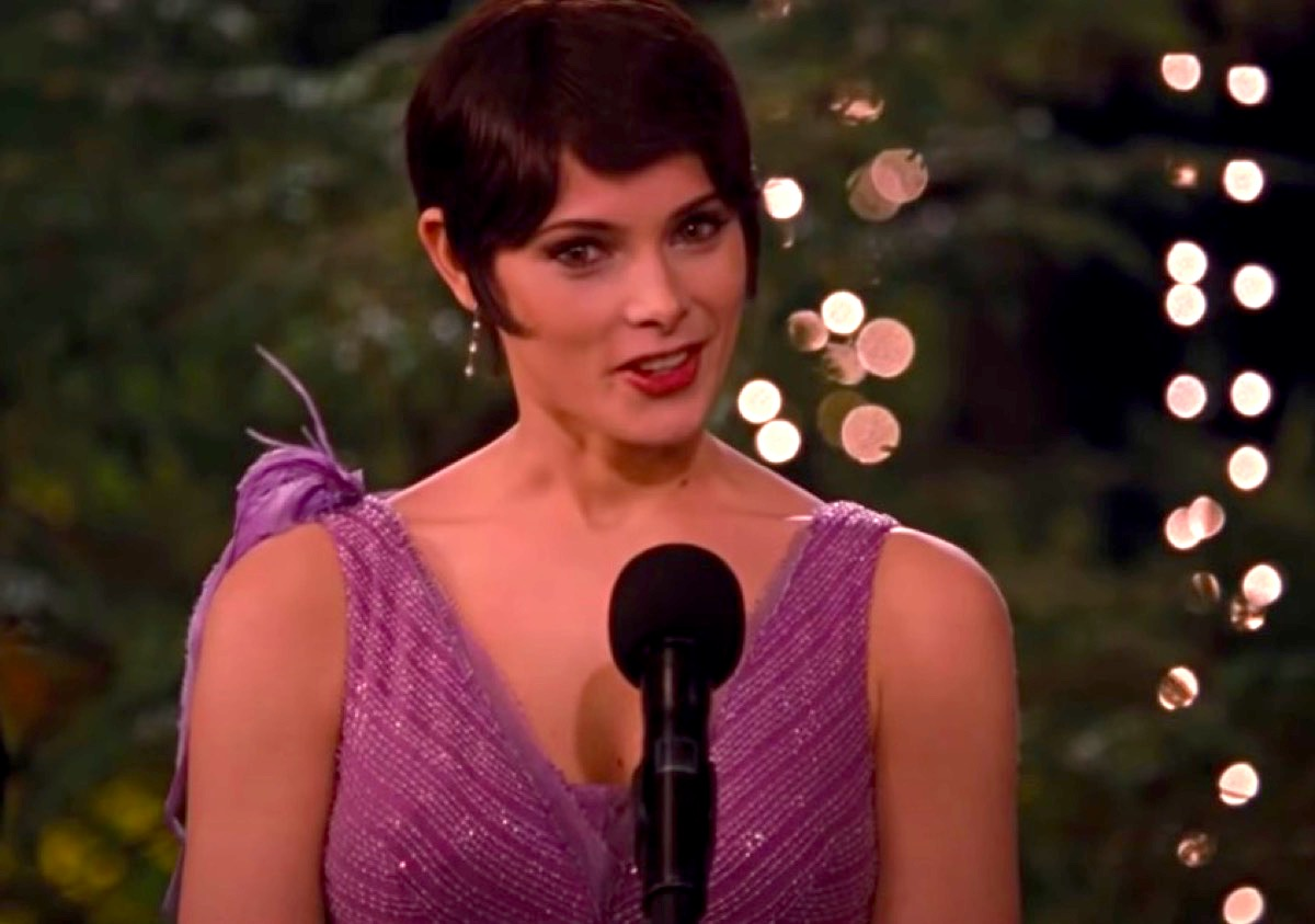 Alice Cullen speaks at Bella and Edward's wedding.