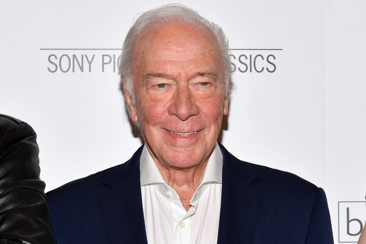 "NEW YORK, NY - JUNE 11: Christopher Plummer attends the ""Boundaries"" New York screening at The Roxy Cinema on June 11, 2018 in New York City. (Photo by Dia Dipasupil/Getty Images)"