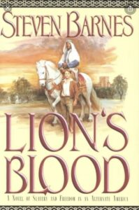 Book cover for Lion's Blood by Steven Barnes