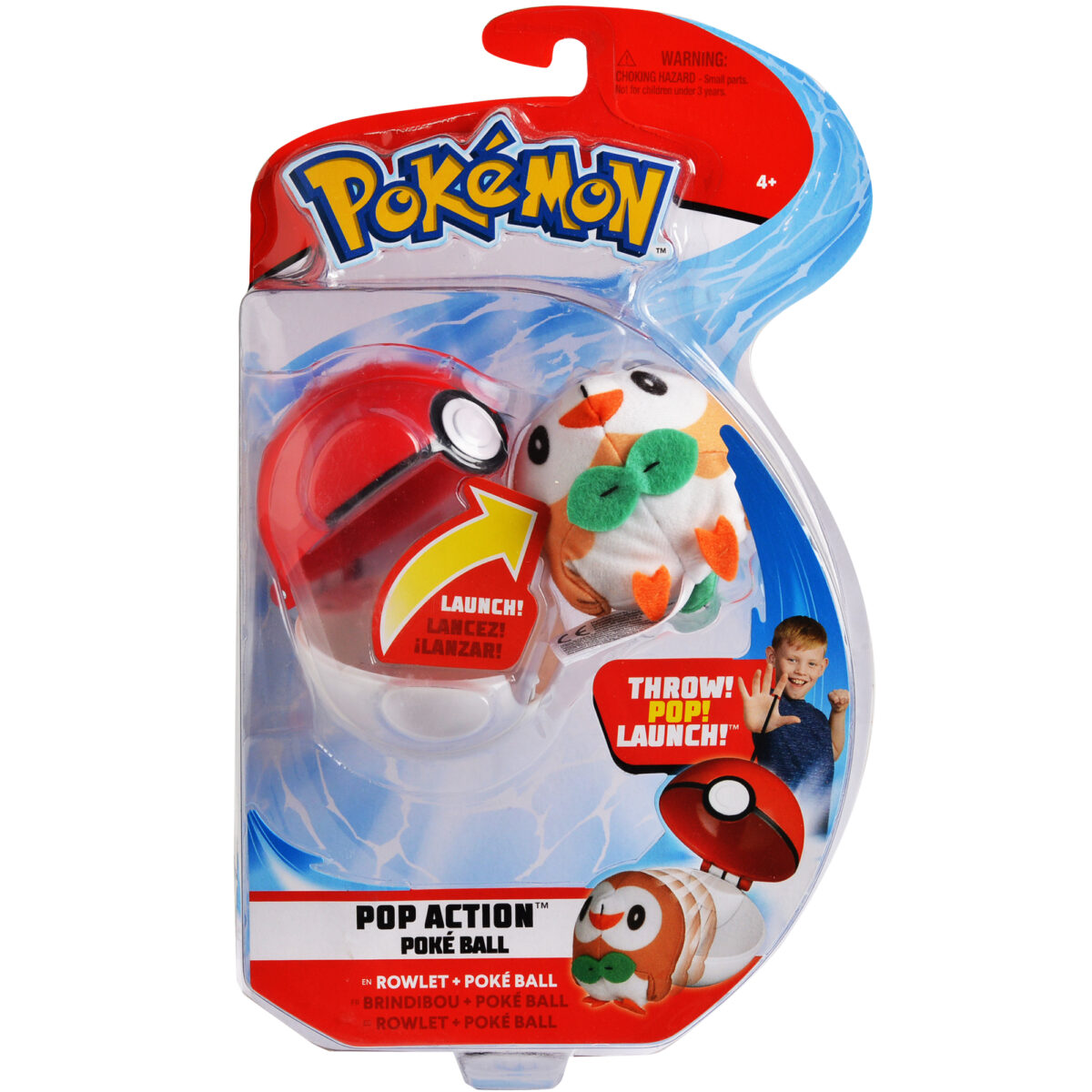 Picture of the Launchable Rowlet toy