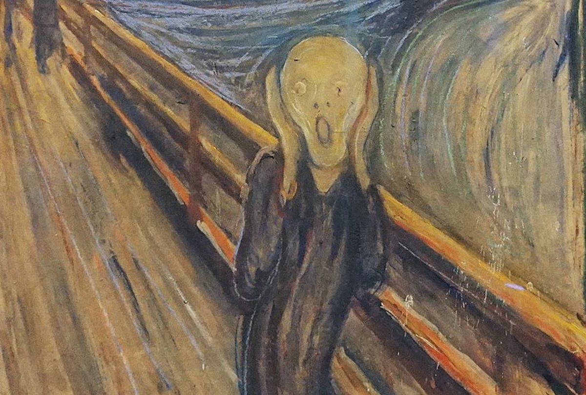 """A Hidden Message on """"The Scream"""" Appears To Have Been Written by the Artist Himself"""