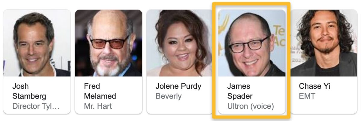 James Spader credited as Ultron's voice in WandaVision
