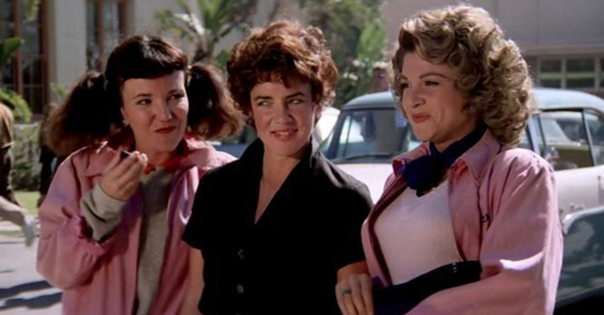 The pink ladies of Grease