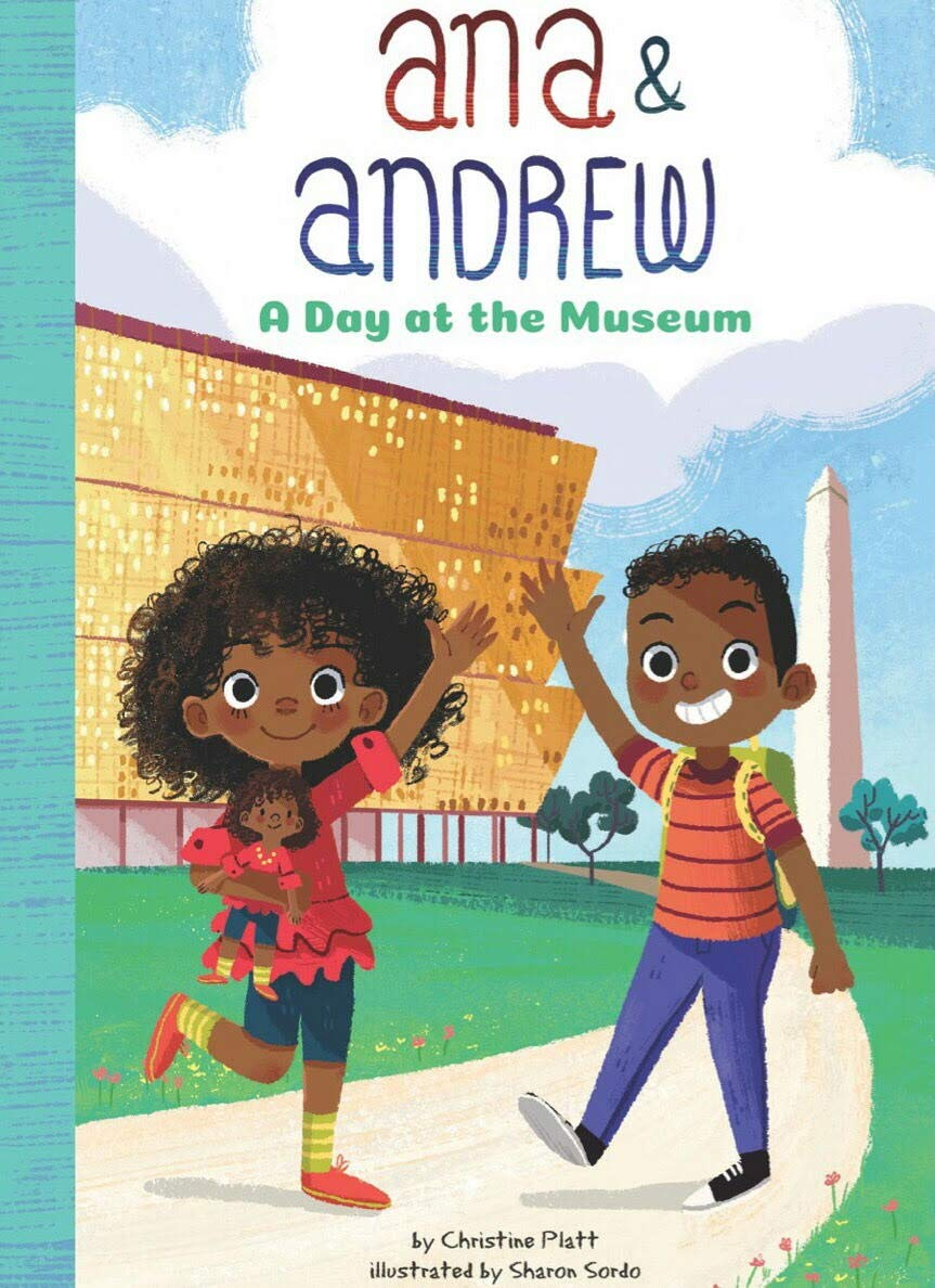 Book cover for Ana and Andrew by Christine Platt