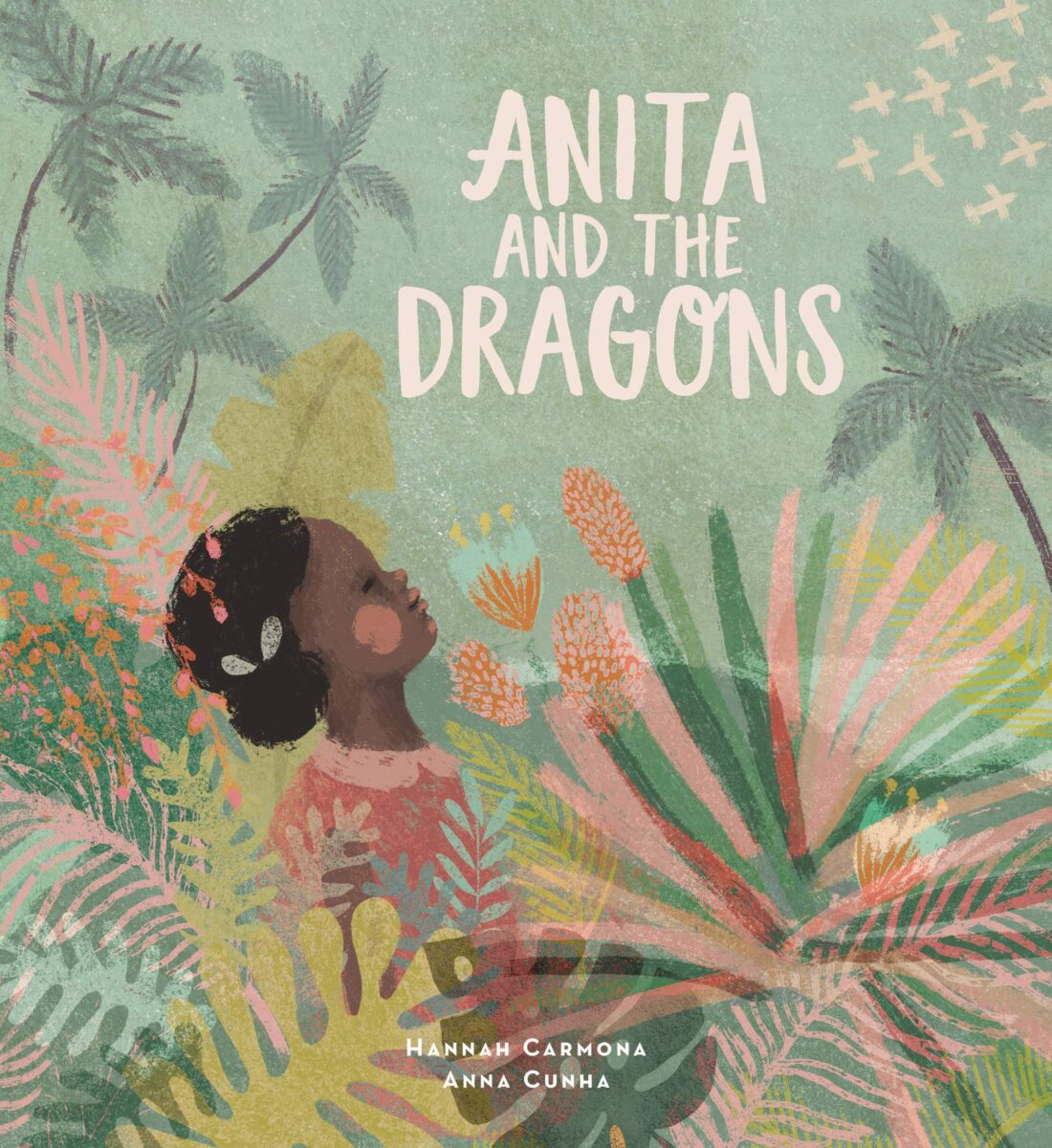 Book cover for Anita and The Dragons by Hannah Carmona
