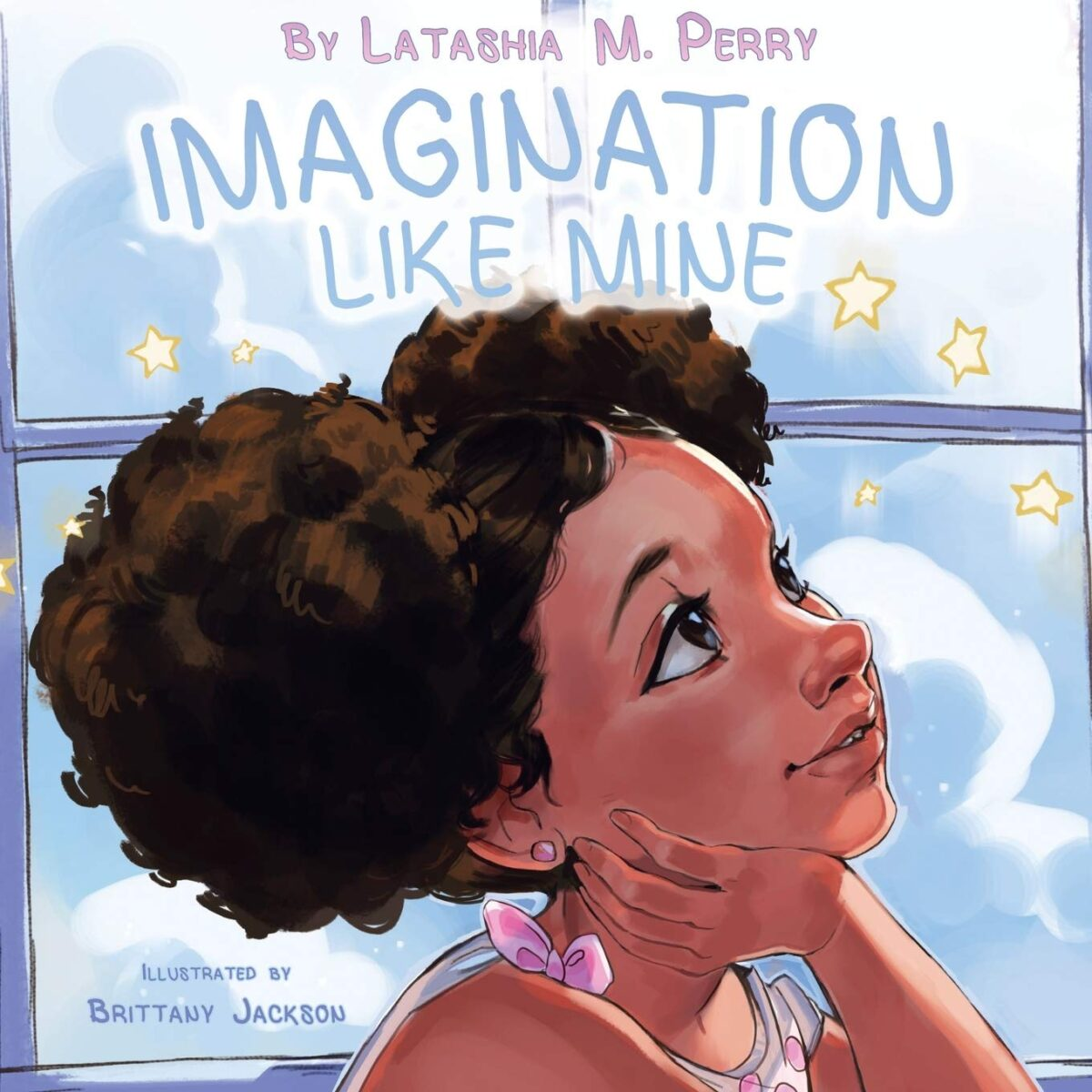 Book cover for Imagination Like Mine by Latashia M. Perry