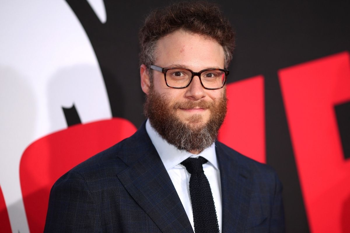 """Seth Rogen attends premiere of Universal Pictures """"Blockers."""""""