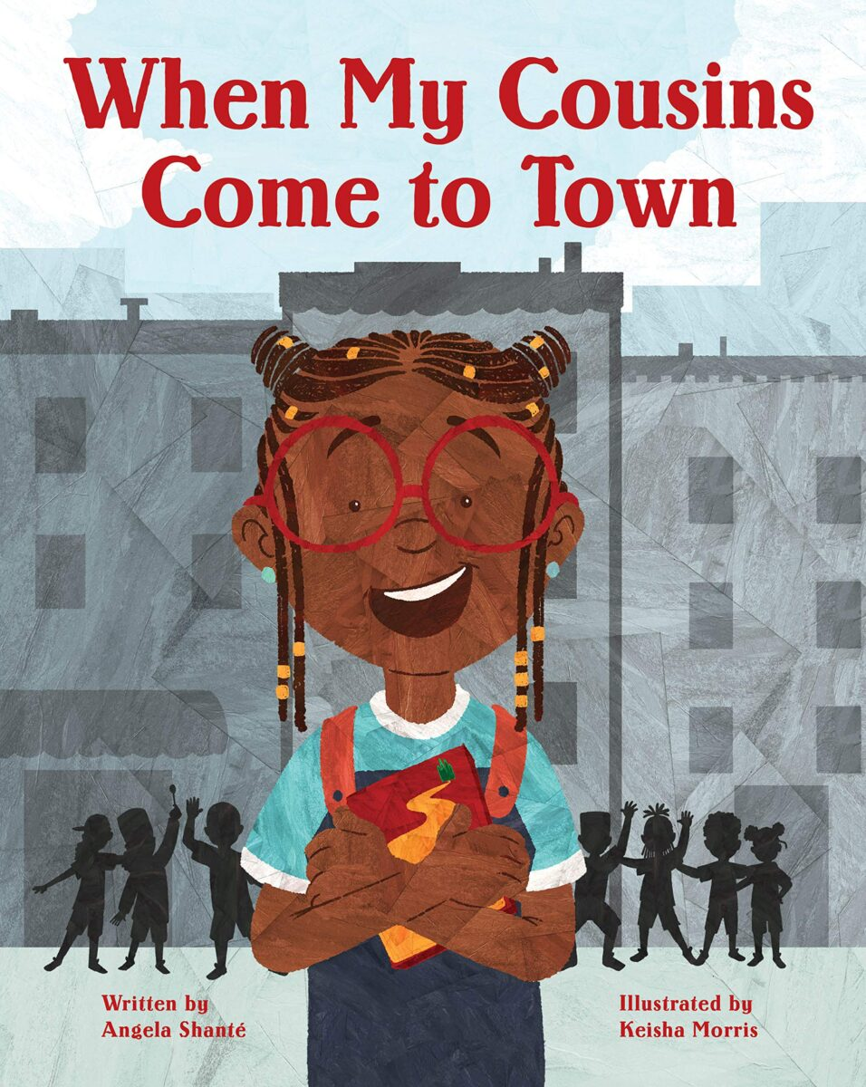 Book cover for When My Cousins Come To Town by Angela Shante