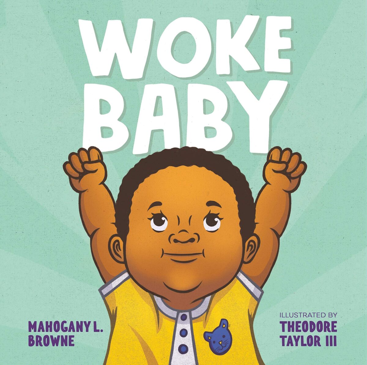 Book cover for Woke Baby by Mahogany L. Browne