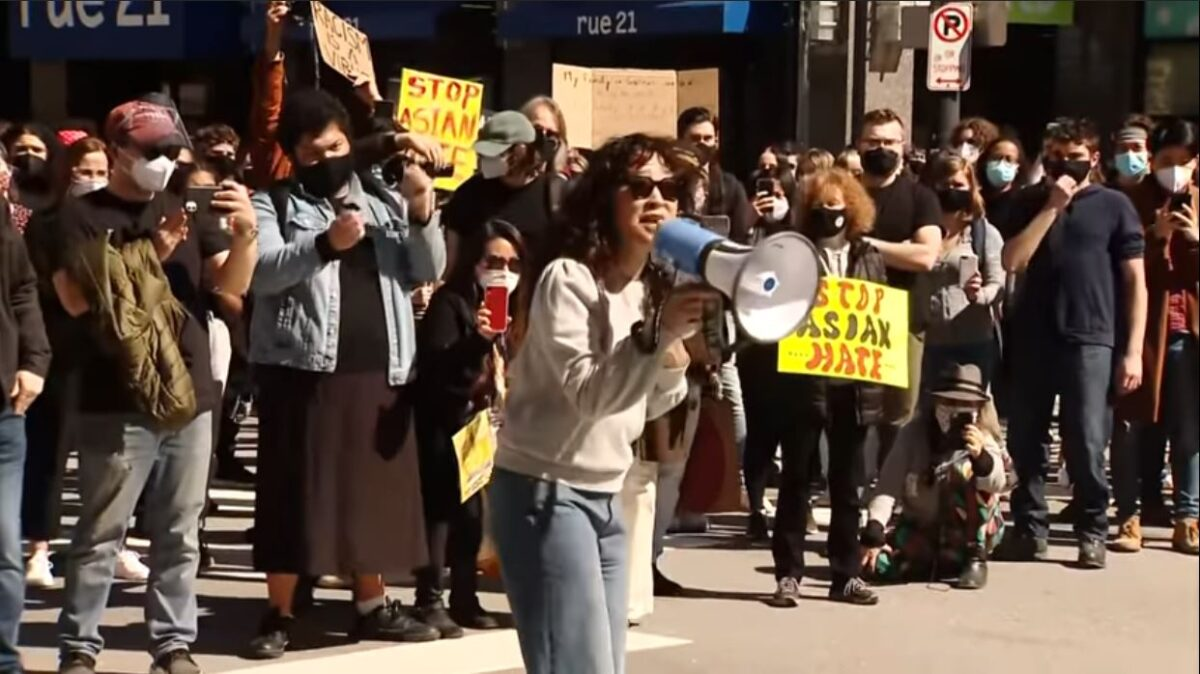 Across the U.S., Asian-Americans are rallying against hate