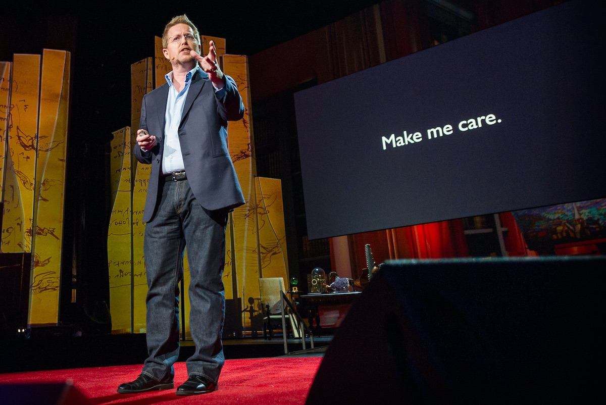 What Topic Could You Give a TED Talk On With Zero Preparation?