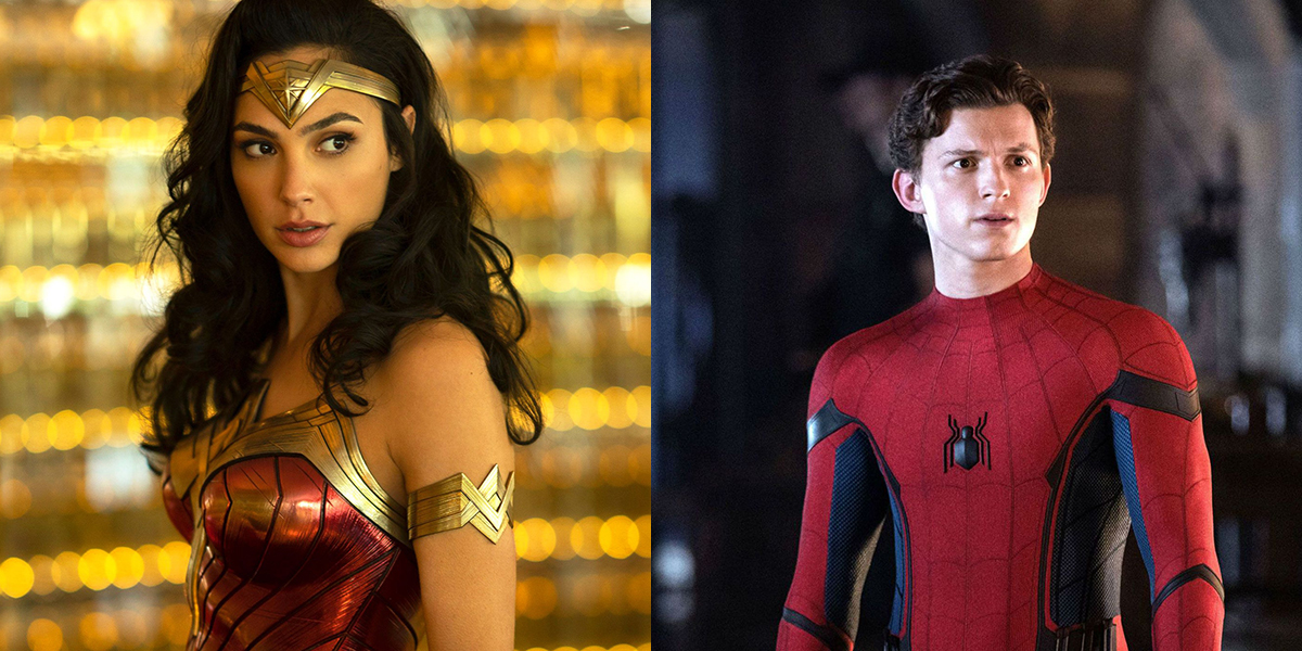 Wonder Woman and Peter Parker