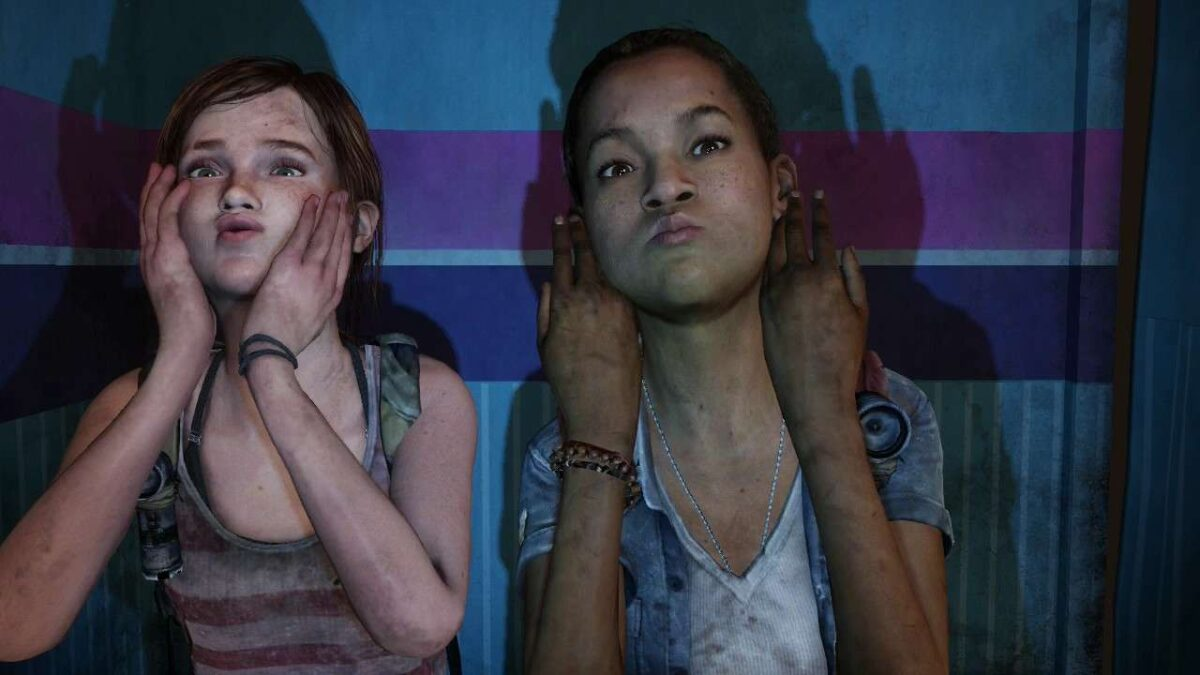 Ellie and Riley in The Last of Us: Left Behind