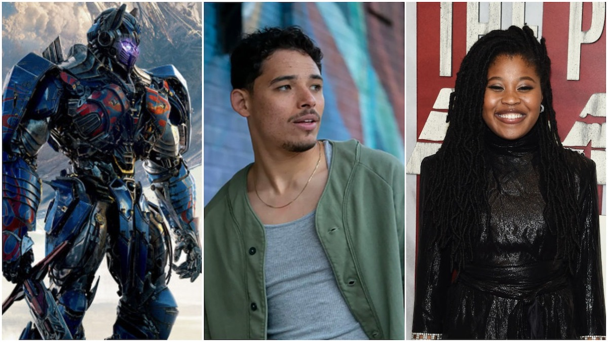 Transformers Rise of the Beasts stars Anthony Ramos and Dominique Fishback