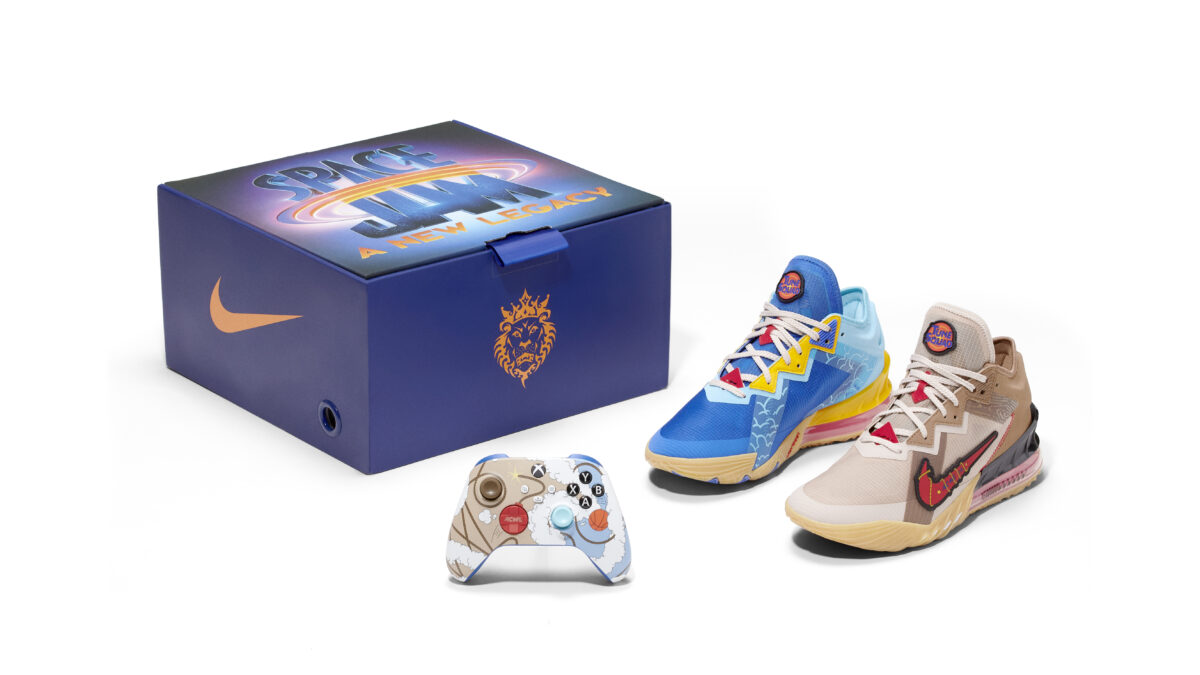 Space Jam Shoe and Controller
