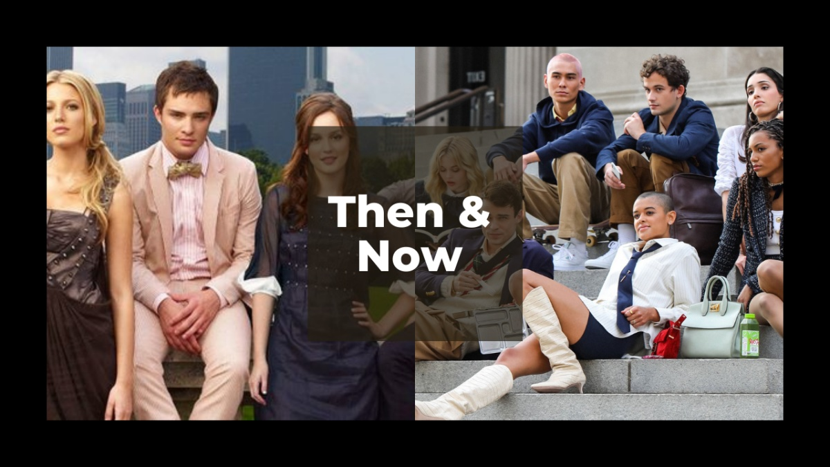 the two casts of gossip girl over the years